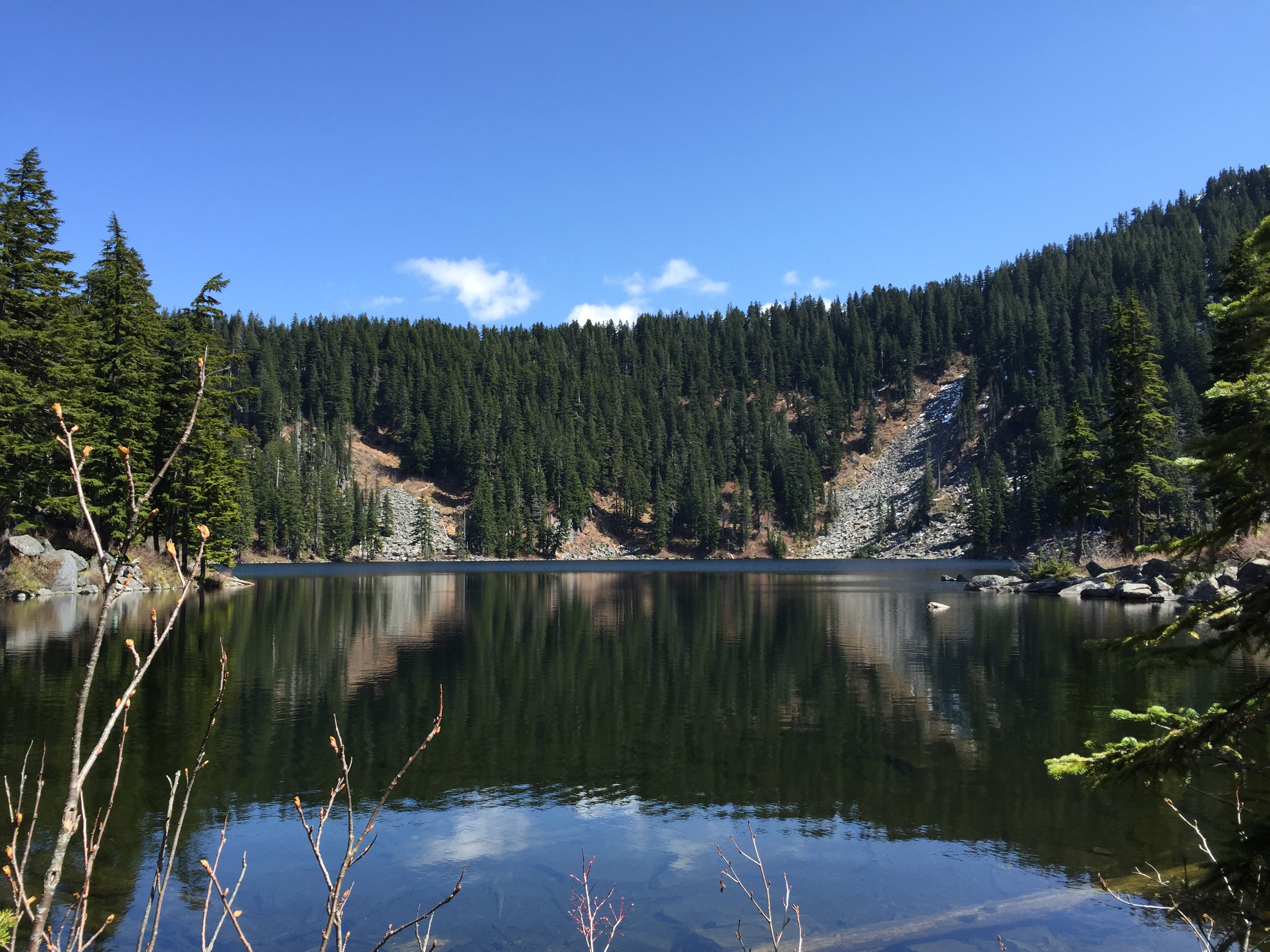 Ira Springs Trail to Mason Lake