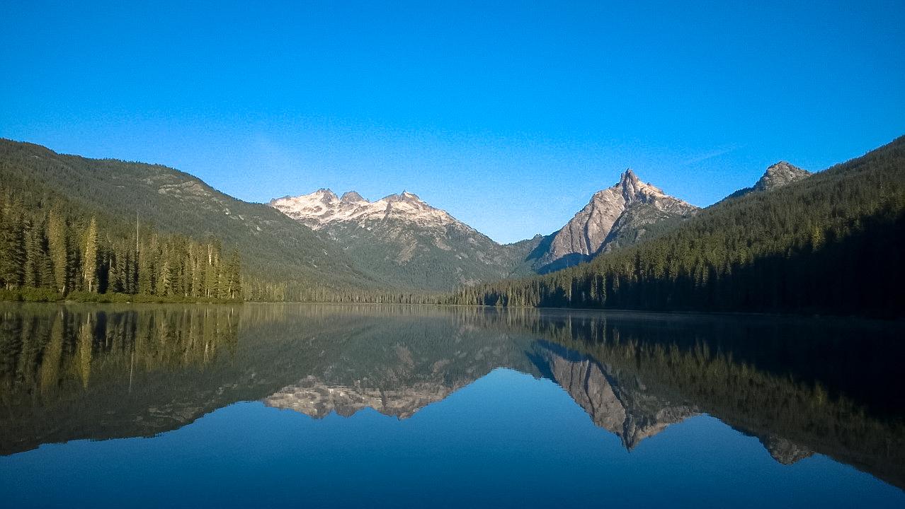 Waptus Lake Backpacking