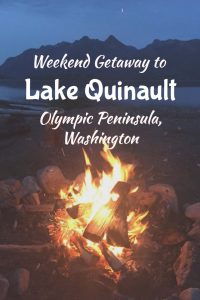 Lake Quinault is a great weekend getaway from Seattle! Enjoy kayaking and swimming on the lake, hiking in the rainforest of Olympic National Park, and visit the Pacific Ocean just 30 minutes away! Click through to see your guide to a great Washington vacation spot!