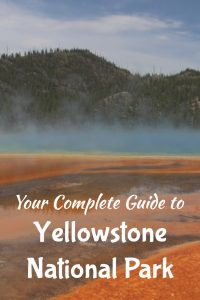 Check out this full guide to Yellowstone National Park. Great hikes and all the best spots you can't miss when planning your Yellowstone National Park vacation. Hiking, Camping, Road Trips