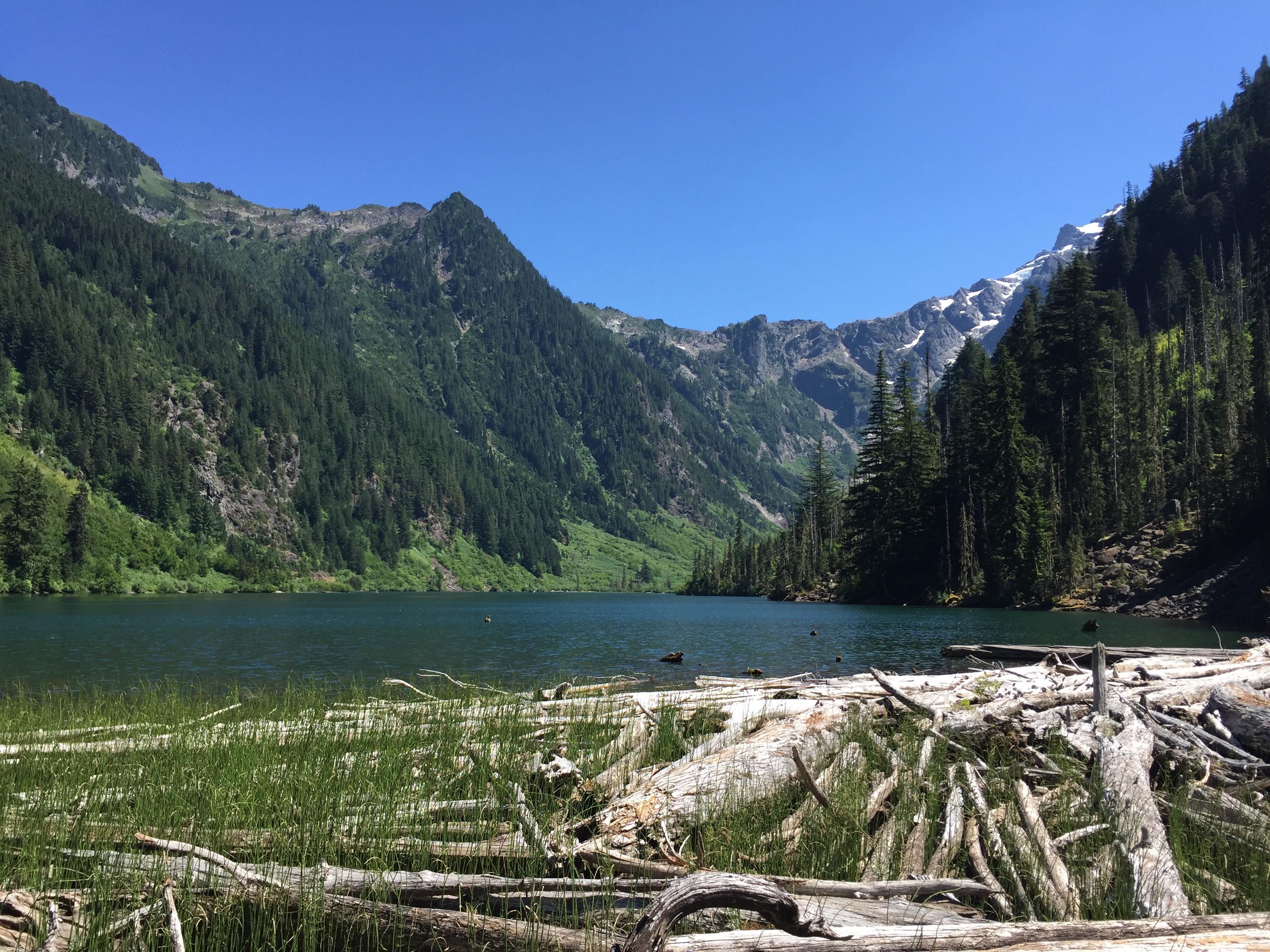Goat Lake Backpacking