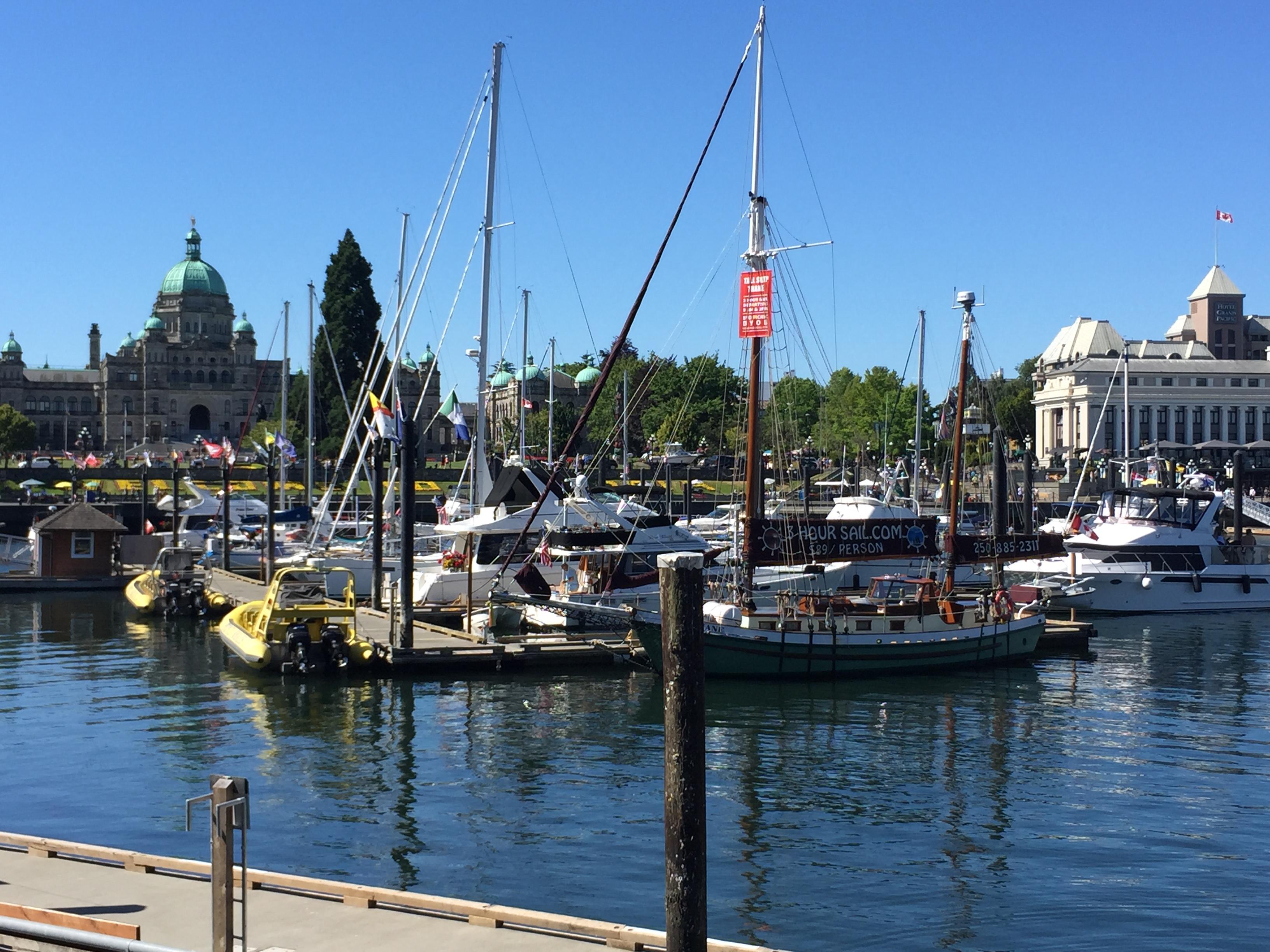 A Day in Victoria, B.C.
