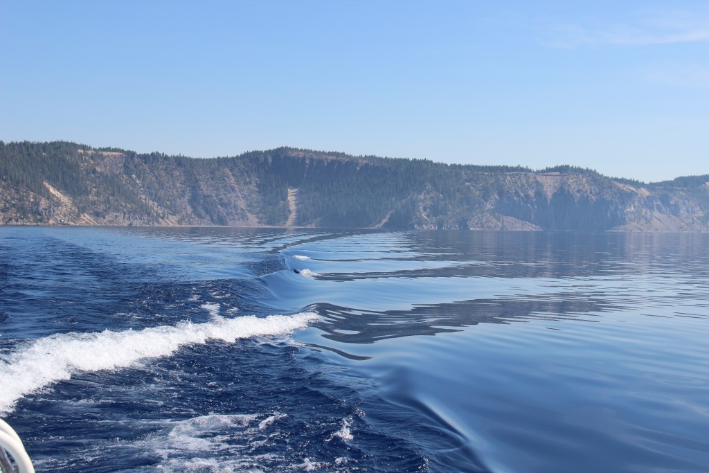 Crater Lake Boat Tour Hike