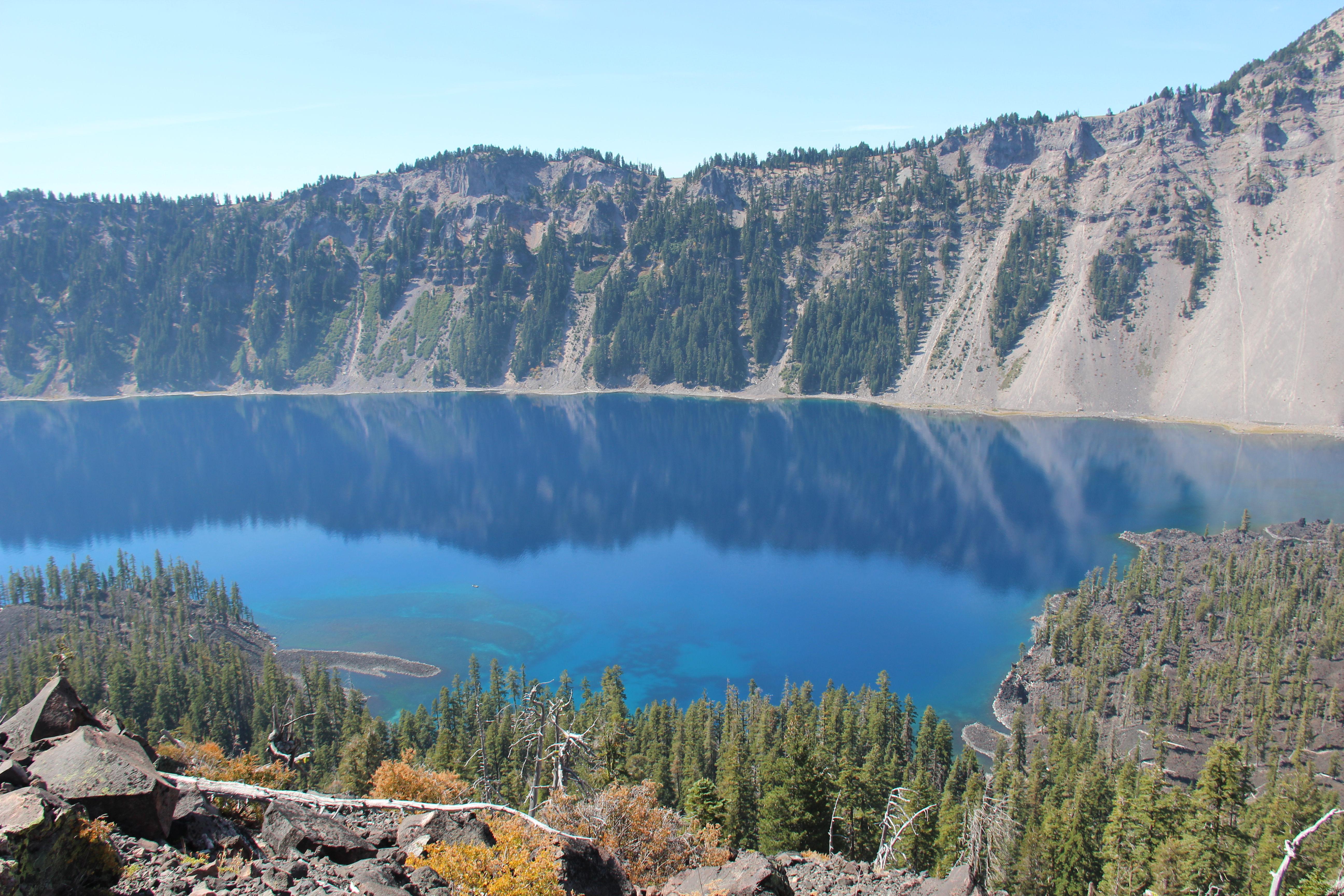 crater lake wizard island travels n trails